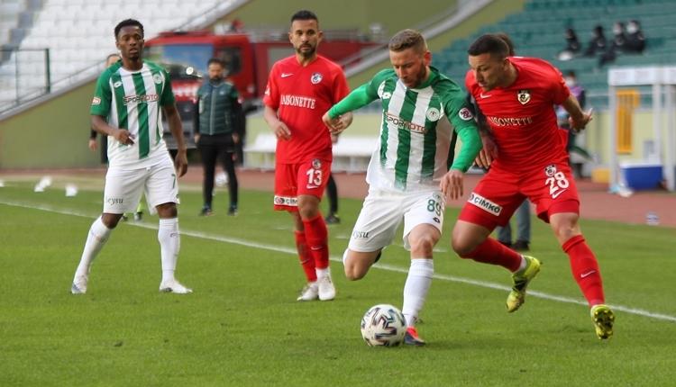 Konyaspor 0-0 Gaziantep FK maç özeti (İZLE)