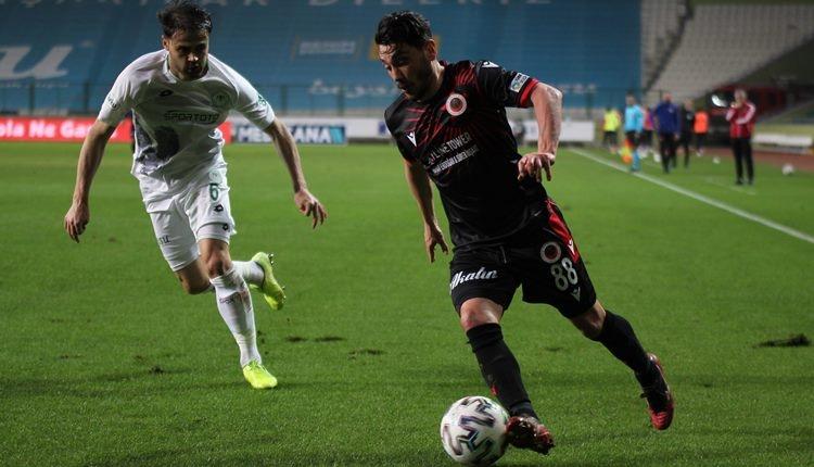 Konyaspor 0-0 Gençlerbirliği maç özeti (İZLE)