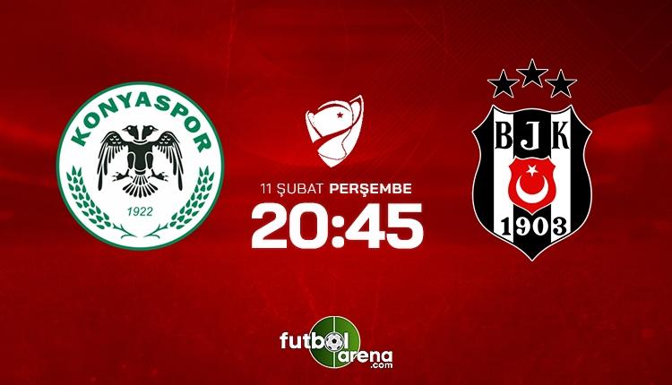 Konyaspor - Beşiktaş (CANLI)