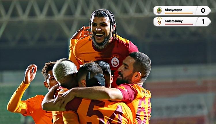 Lider Galatasaray, Alanya'da tek golle kazandı (İZLE)
