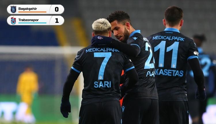 Medipol Başakşehir 0-1 Trabzonspor maç özeti ve golü (İZLE)