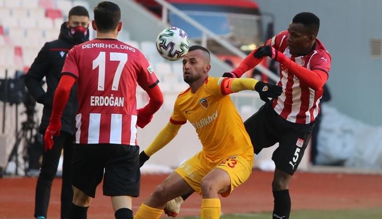 Sivasspor 2-0 Kayserispor maç özeti ve golleri (İZLE)