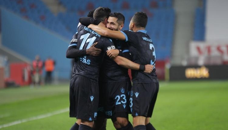 Trabzonspor'un deplasman başarısı! Bileği bükülmüyor