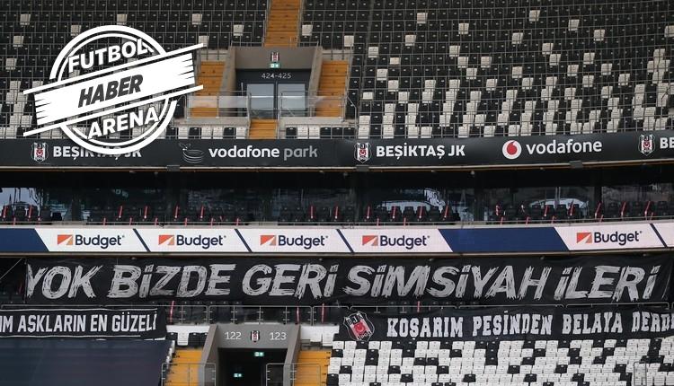 Vodafone Park'ta 'Bize her yer Trabzon' gerginliği