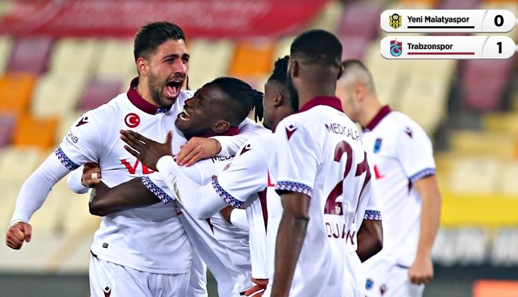 Yeni Malatyaspor 0-2 Trabzonspor maç özeti ve golleri (İZLE)