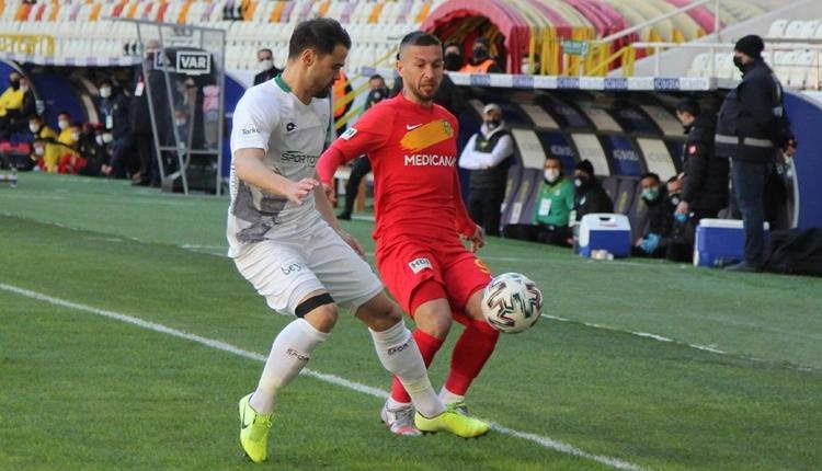 Yeni Malatyaspor 2-3 Konyaspor maç özeti ve golleri (İZLE)