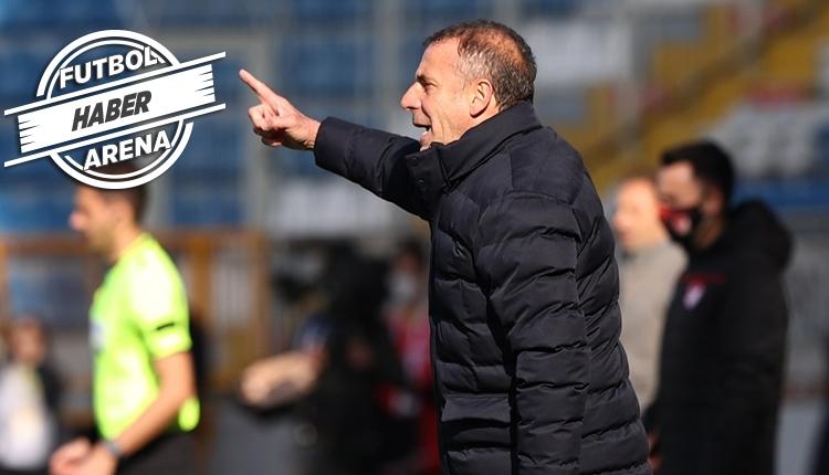 Abdullah Avcı: 'Trabzonspor hep zirvede yarışır'