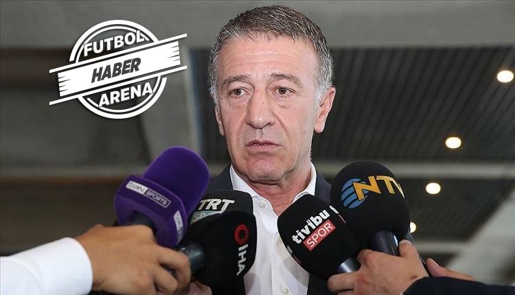Ahmet Ağaoğlu: 'FIFA'ya dosyayı yolladık!'