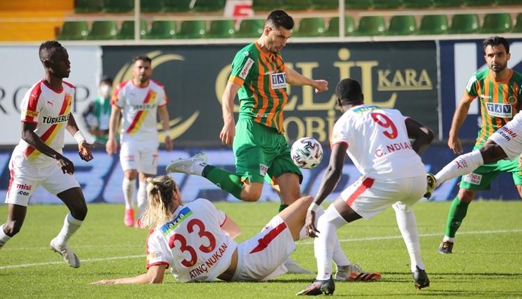 Alanyaspor 1-1 Göztepe maç özeti ve golleri (İZLE)
