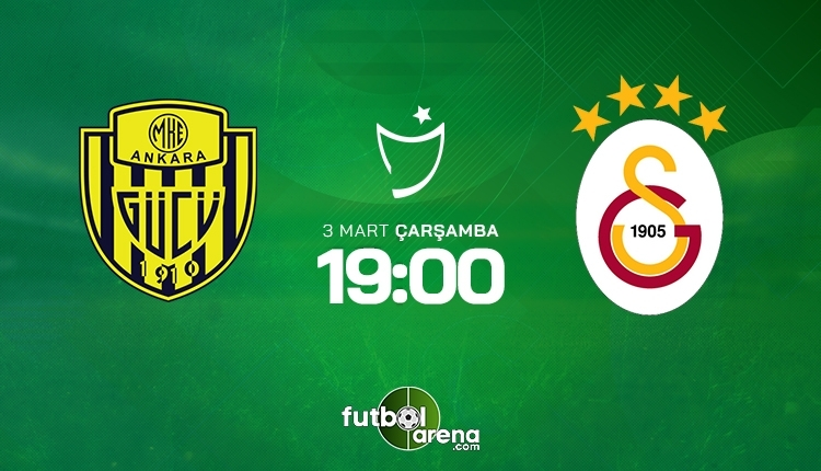 Ankaragücü-Galatasaray canlı maç izle, Ankaragücü-Galatasaray şifresiz maç izle (Ankaragücü-Galatasaray beIN Sports canlı ve şifresiz İZLE)