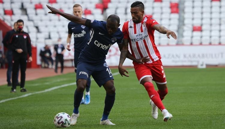 Antalyaspor 1-1 Kasımpaşa maç özeti ve golleri (İZLE)