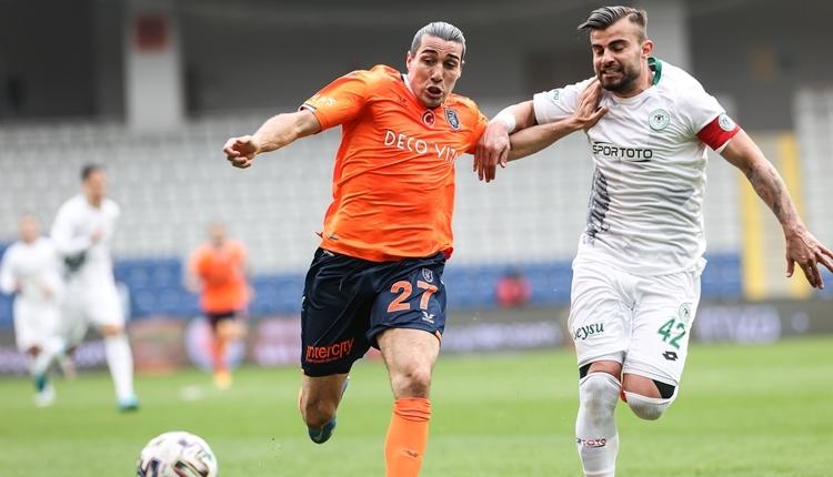 Başakşehir 1-1 Konyaspor maç özeti ve golleri (İZLE)