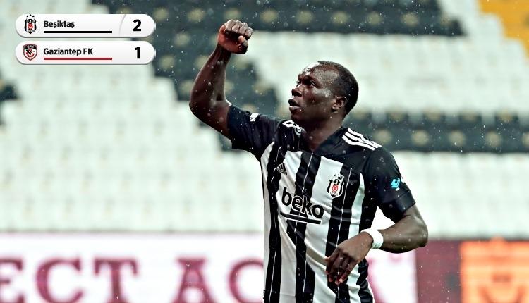 Beşiktaş, Gaziantep'i Aboubakar ile geçti (İZLE)