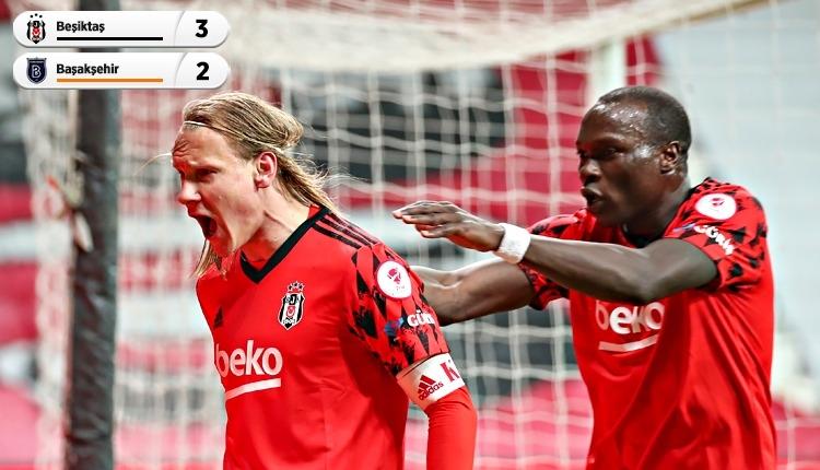 Beşiktaş finalde! (Beşiktaş 3-2 Başakşehir maç özeti ve golleri izle)
