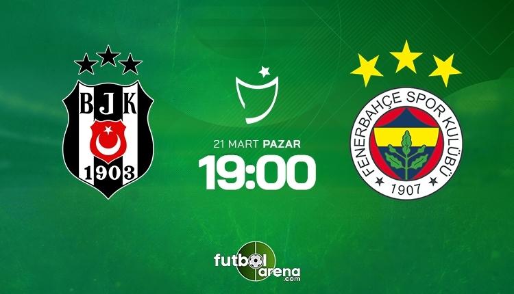 Beşiktaş-Fenerbahçe canlı izle, Beşiktaş-Fenerbahçe şifresiz izle (Beşiktaş-Fenerbahçe beIN Sports canlı ve şifresiz maç İZLE)