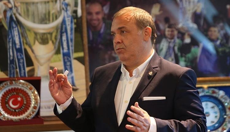 Bursaspor Başkanı ErkanKamat: 'Futbolcular özür dilediler'