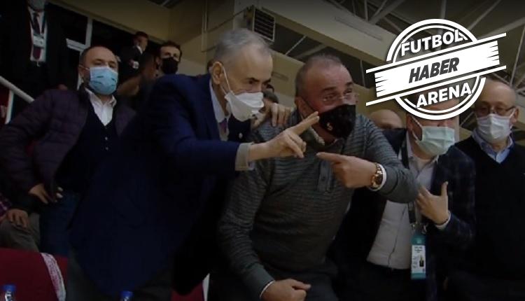 Büyükçekmece - Galatasaray maçında tribünde olay!