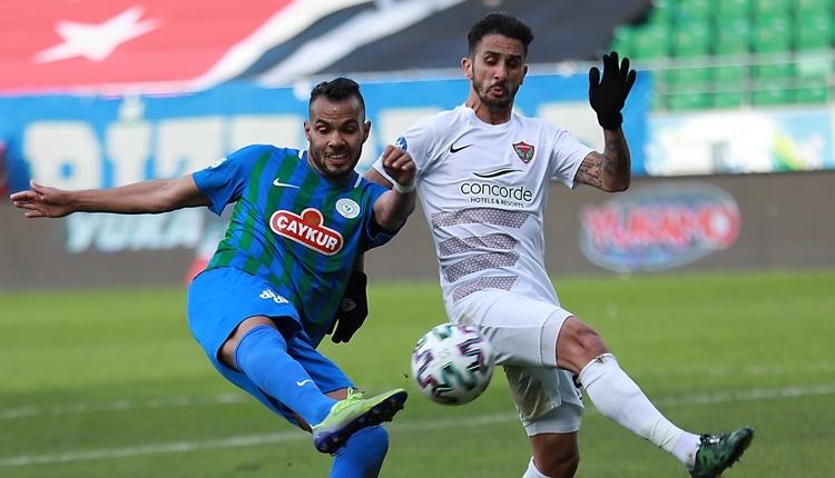 Çaykur Rizespor 1-0 Hatayspor maç özeti ve golü (İZLE)