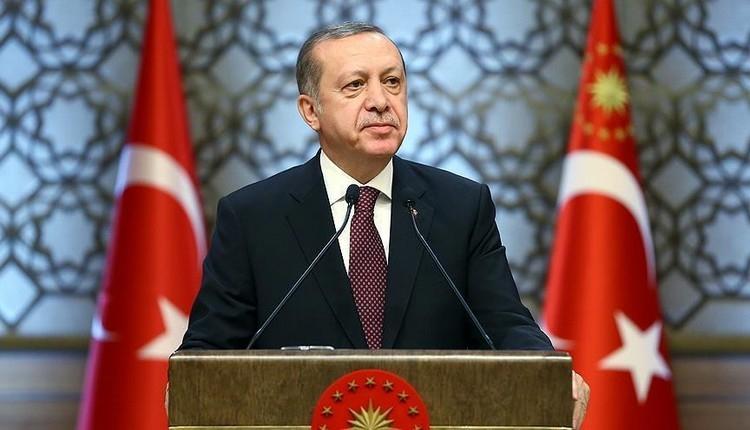 Cumhurbaşkanı Erdoğan'dan Burak Yılmaz'a: