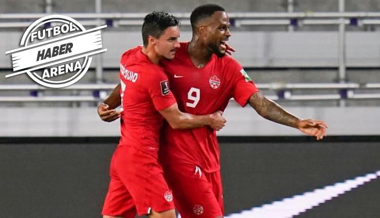 Cyle Larin'den Kanada-Bermuda maçında hat trick
