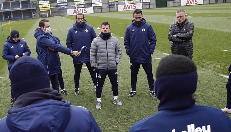 Fenerbahçe'de Emre Belözoğlu ile ilk idman: 'İçinizden birisiyim'