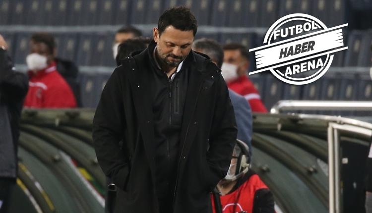 Erol Bulut'tan hakem tepkisi: 'Yediğimiz gol ofsayt'
