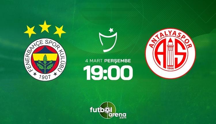 Fenerbahçe-Antalyaspor canlı izle,Fenerbahçe-Antalyaspor şifresiz izle (Fenerbahçe-Antalyaspor beIN Sports canlı ve şifresiz İZLE)