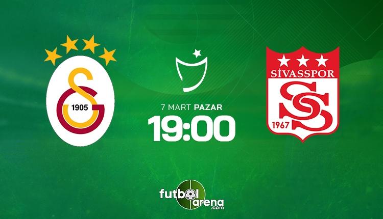 Galatasaray - Sivasspor maçı muhtemel 11'ler