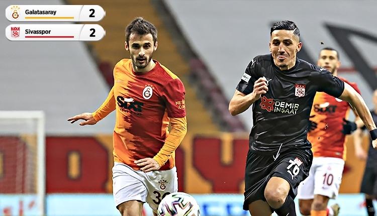 Galatasaray, Sivasspor maçında liderliği devretti (İZLE)
