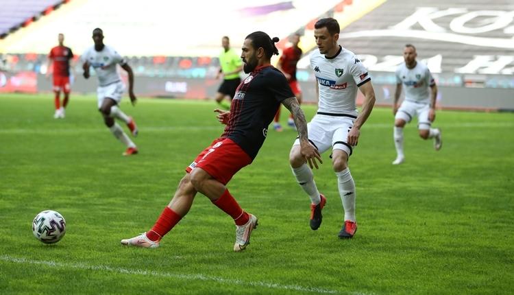 Gaziantep FK 2-0 Denizlispor maç özeti ve golleri (İZLE)