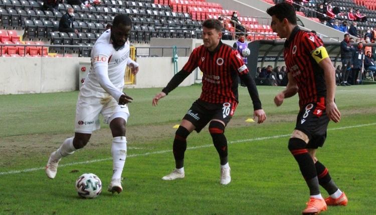 Gaziantep FK 2-1 Gençlerbirliği maç özeti ve golleri (İZLE)