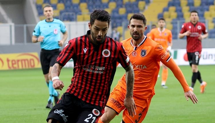 Gençlerbirliği 0-1 Başakşehir maç özeti ve golü (İZLE)