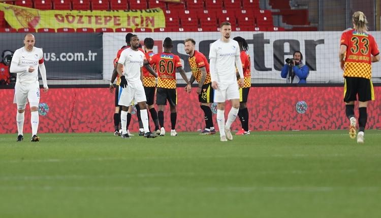 Göztepe 3-1 BB Erzurumspor maç özeti ve golleri (İZLE)