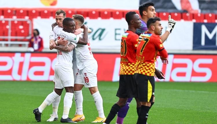 Göztepe 3-5 Sivasspor maç özeti ve golleri (İZLE)