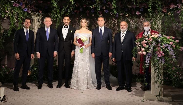 İrfan Can Kahveci evlendi! Ali Koç şahitlik yaptı