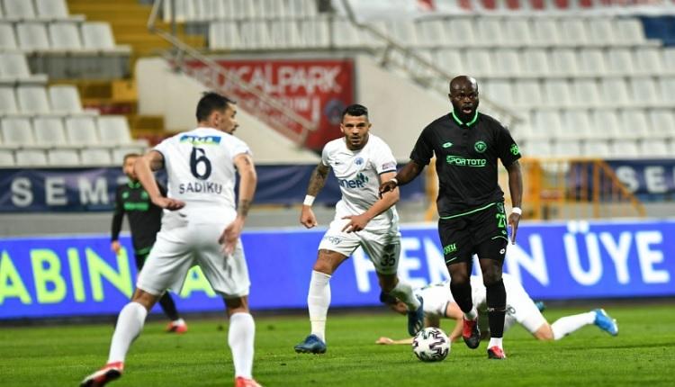 Kasımpaşa 1-1 Konyaspor maç özeti ve golleri (İZLE)