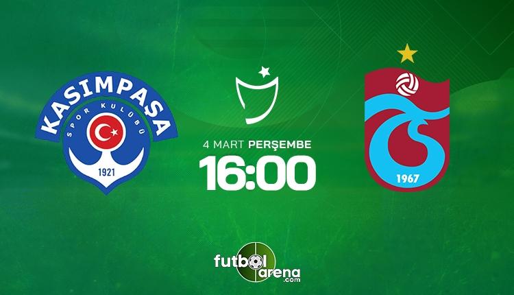 Kasımpaşa - Trabzonspor canlı şifresiz İZLE, Kasımpaşa - Trabzonspor beIN Sports şifresiz (Kasımpaşa - Trabzonspor şifresiz yayın)