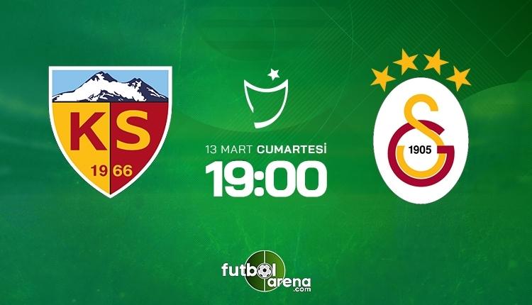 Kayserispor-Galatasaray canlı izle, Kayserispor-Galatasaray şifresiz izle (Kayserispor-Galatasaray beIN Sports canlı ve şifresiz İZLE)