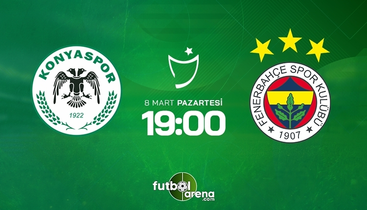 Konyaspor-Fenerbahçe canlı izle, Konyaspor-Fenerbahçe şifresiz izle (Konyaspor-Fenerbahçe beIN Sports canlı ve şifresiz İZLE)