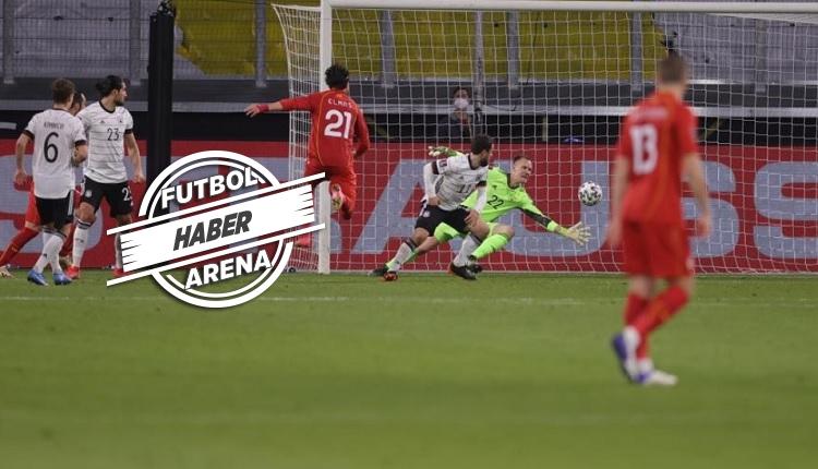 Kuzey Makedonya Almanya'yı 2-1 yendi! Elif Elmas'ın golü