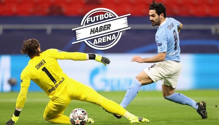 Manchester City 2-0 M'Gladbach maç özeti ve golleri (İZLE)