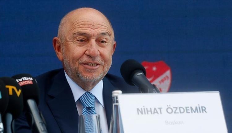 Nihat Özdemir'den milli takım itirafı: