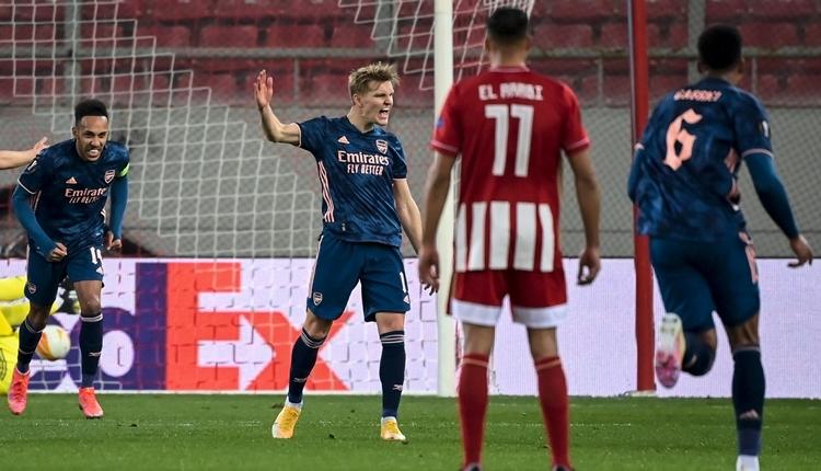 Olympiakos 1-3 Arsenal maç özeti ve golleri (İZLE)