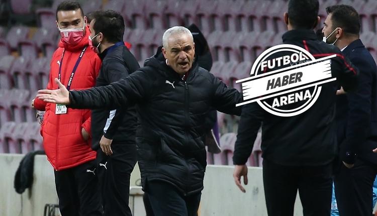 Rıza Çalımbay'dan Galatasaray sözleri: 'Bu kadar eksiğe rağmen'