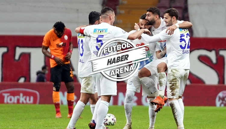 Rizespor'un Galatasaray zaferinde tarihi detaylar! İlkler yaşandı