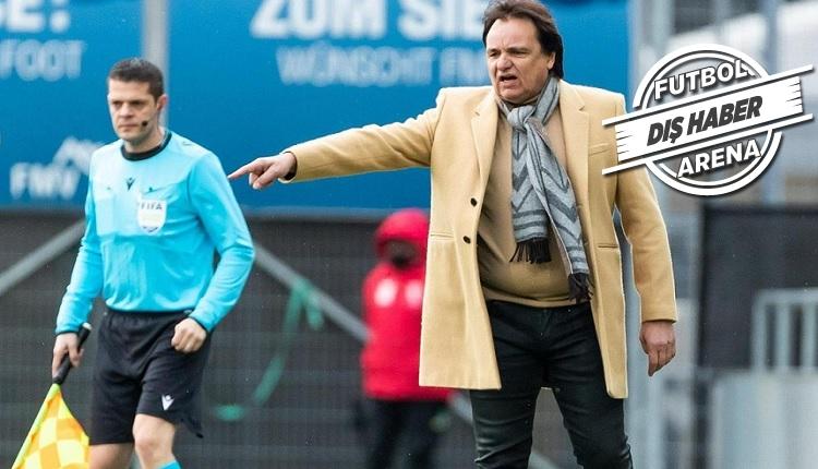Sion'da kulüp başkanı teknik direktör oldu!