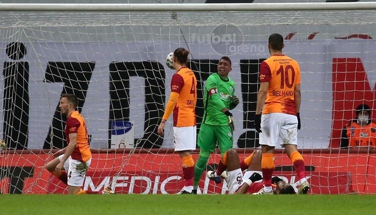 Sivasspor, Galatasaray'a karşı tarihinde ilki yaşadı