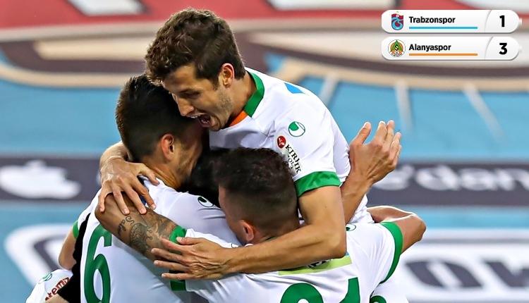 Trabzonspor 1-3 Alanyaspor maç özeti ve golleri (İZLE)