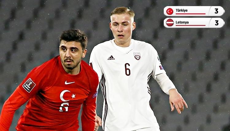 Türkiye 3-3 Letonya maç özeti ve golleri (İZLE)