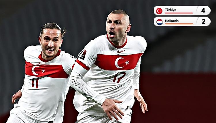 Türkiye 4-2 Hollanda maç özeti ve golleri (İZLE)